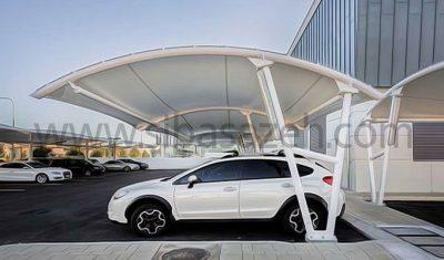 پارکینگ چادری